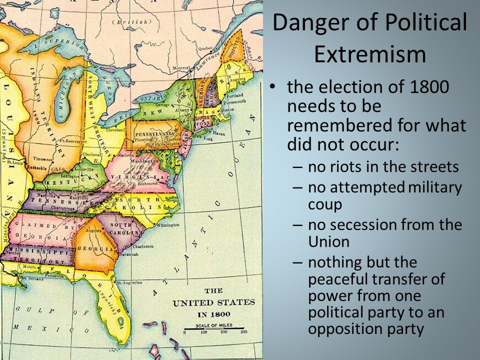 Danger of Political Extremism