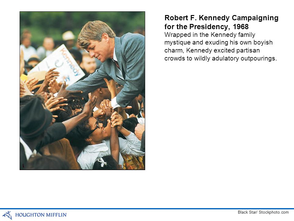 Robert F. Kennedy Campaigning for the Presidency, 1968