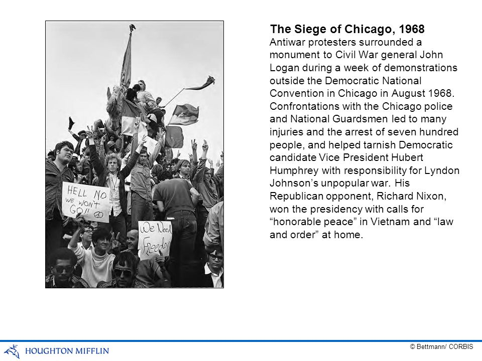 The Siege of Chicago, 1968