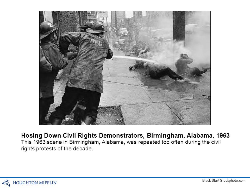 Hosing Down Civil Rights Demonstrators, Birmingham, Alabama, 1963