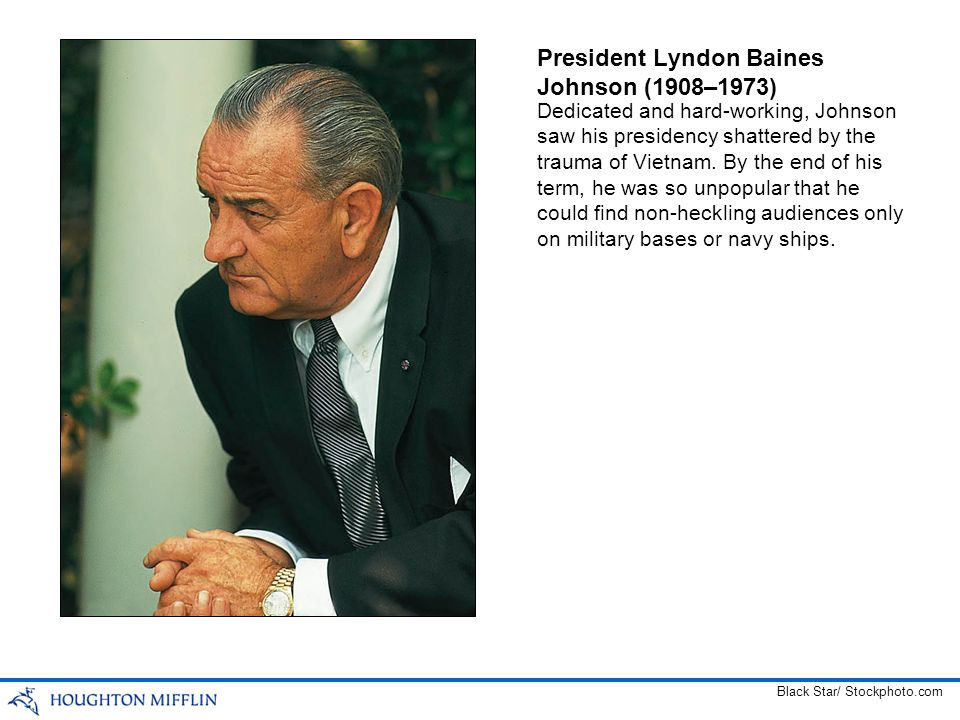 President Lyndon Baines Johnson (1908–1973)