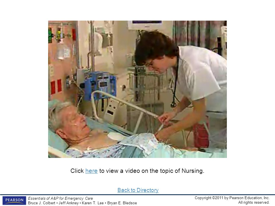 Click here to view a video on the topic of Nursing.