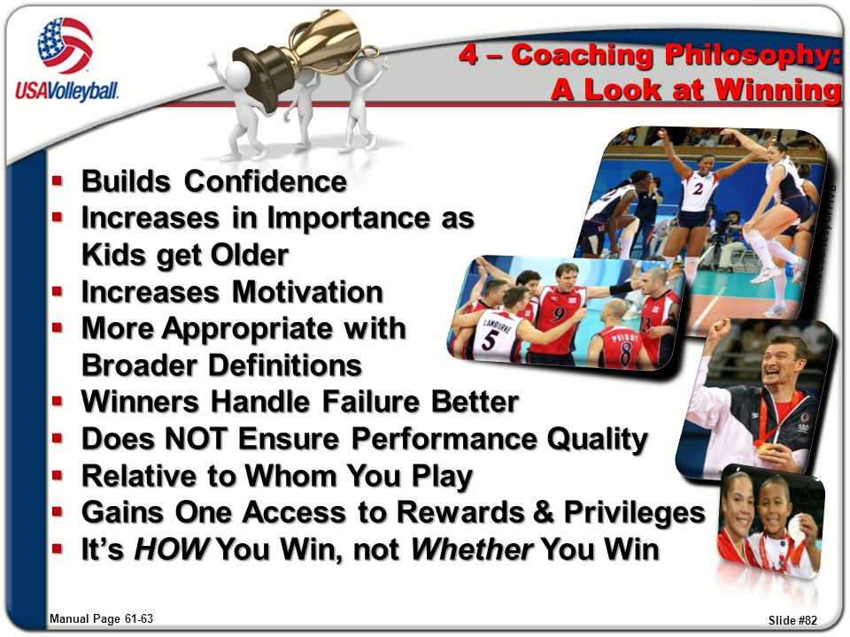 4 – Coaching Philosophy: A Look at Winning