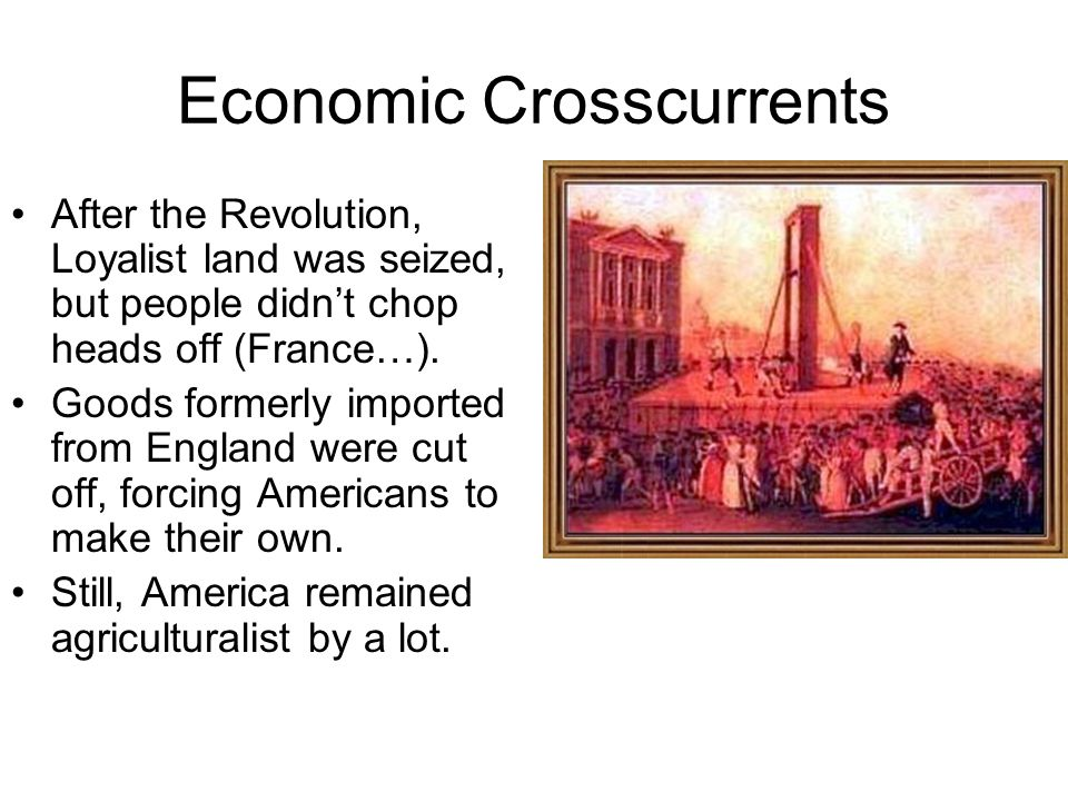 Economic Crosscurrents