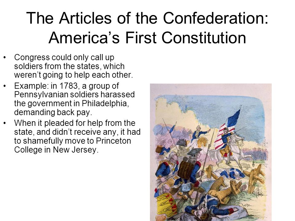 The Articles of the Confederation: America's First Constitution