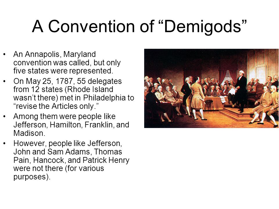 A Convention of Demigods