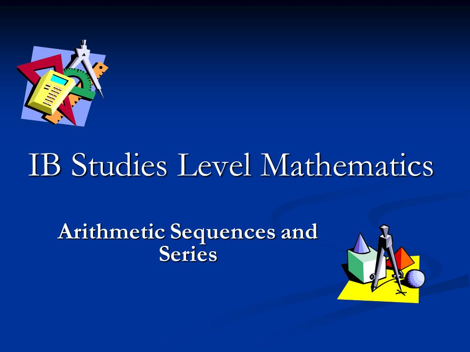 IB Studies Level Mathematics
