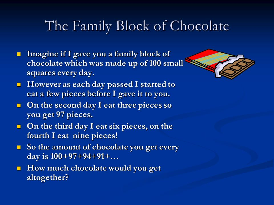 The Family Block of Chocolate