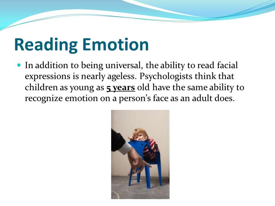 Reading Emotion