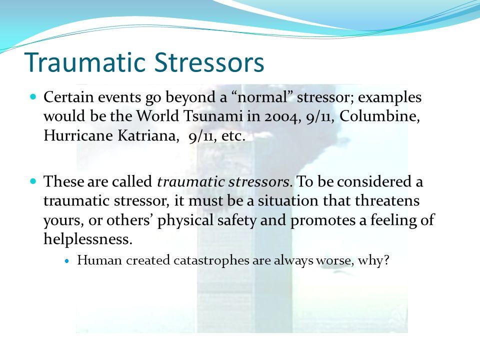 Traumatic Stressors