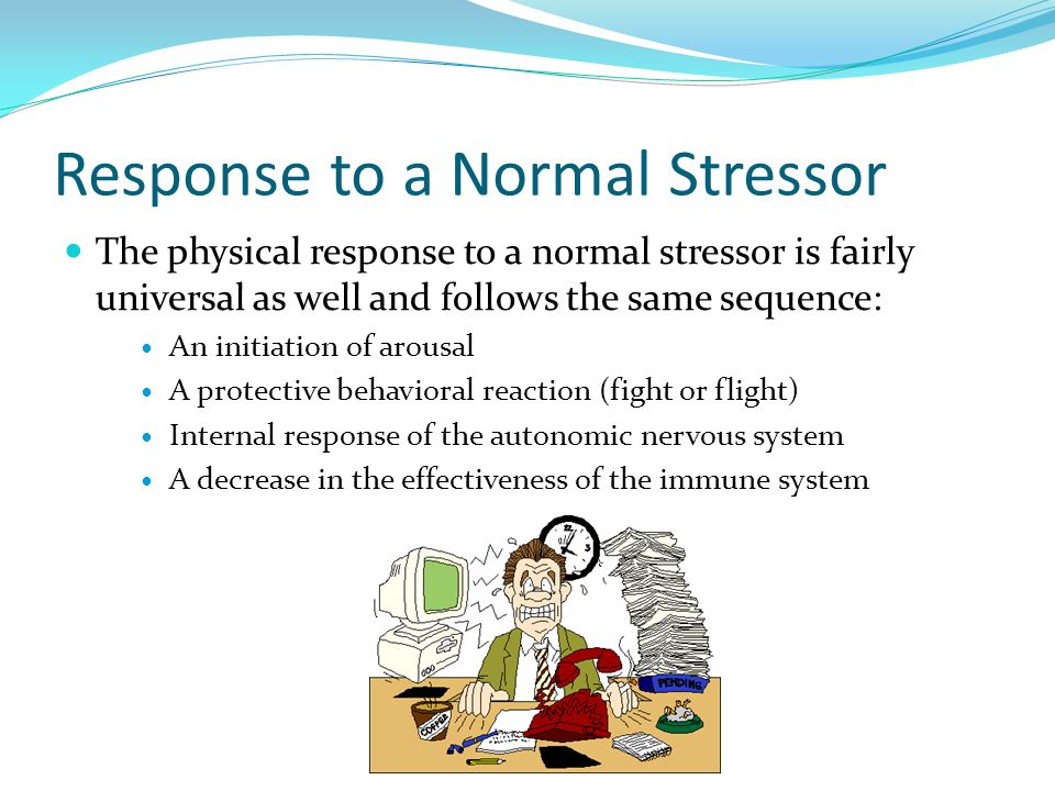 Response to a Normal Stressor