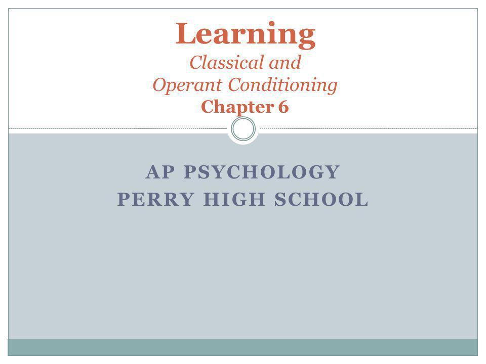 ap psychology chapter 6
