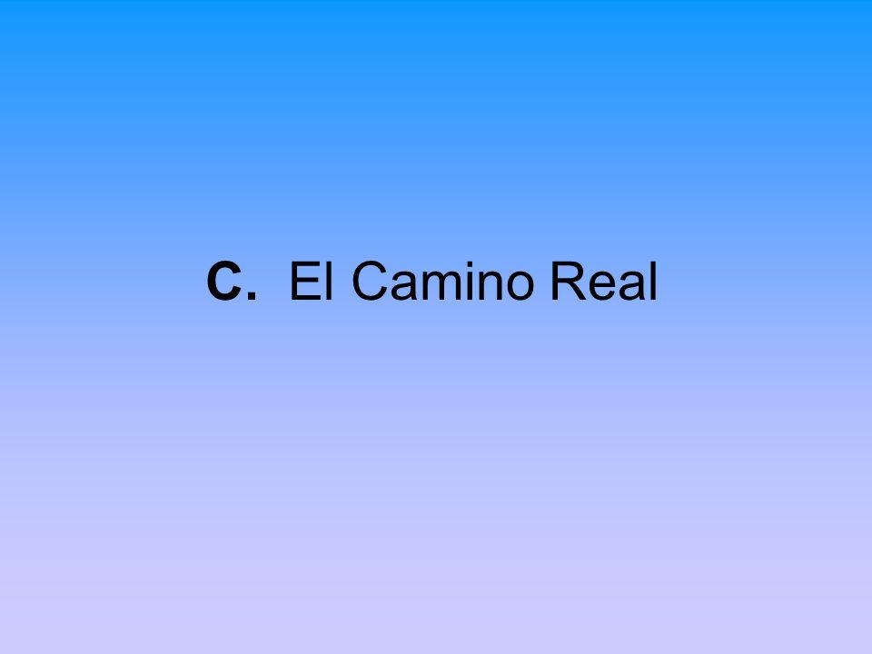 C. El Camino Real