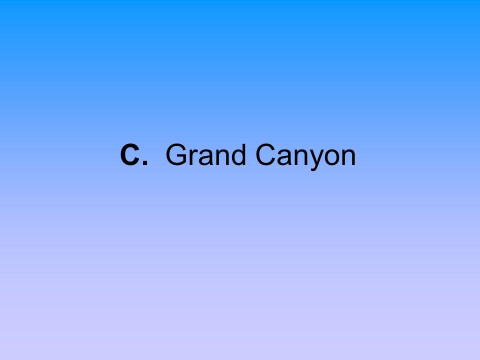 C. Grand Canyon