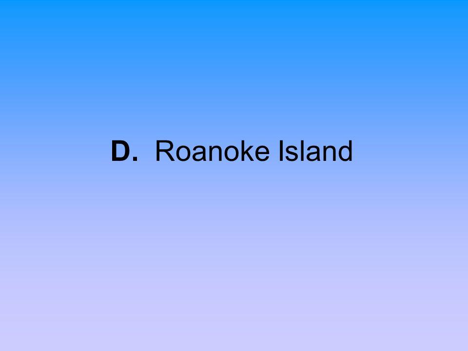D. Roanoke Island