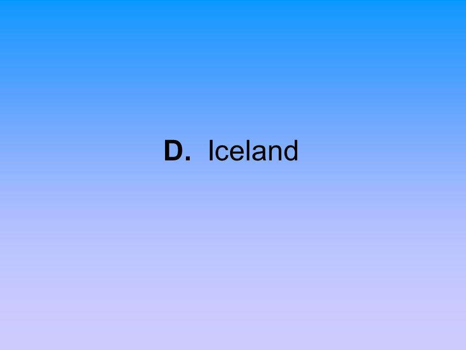 D. Iceland