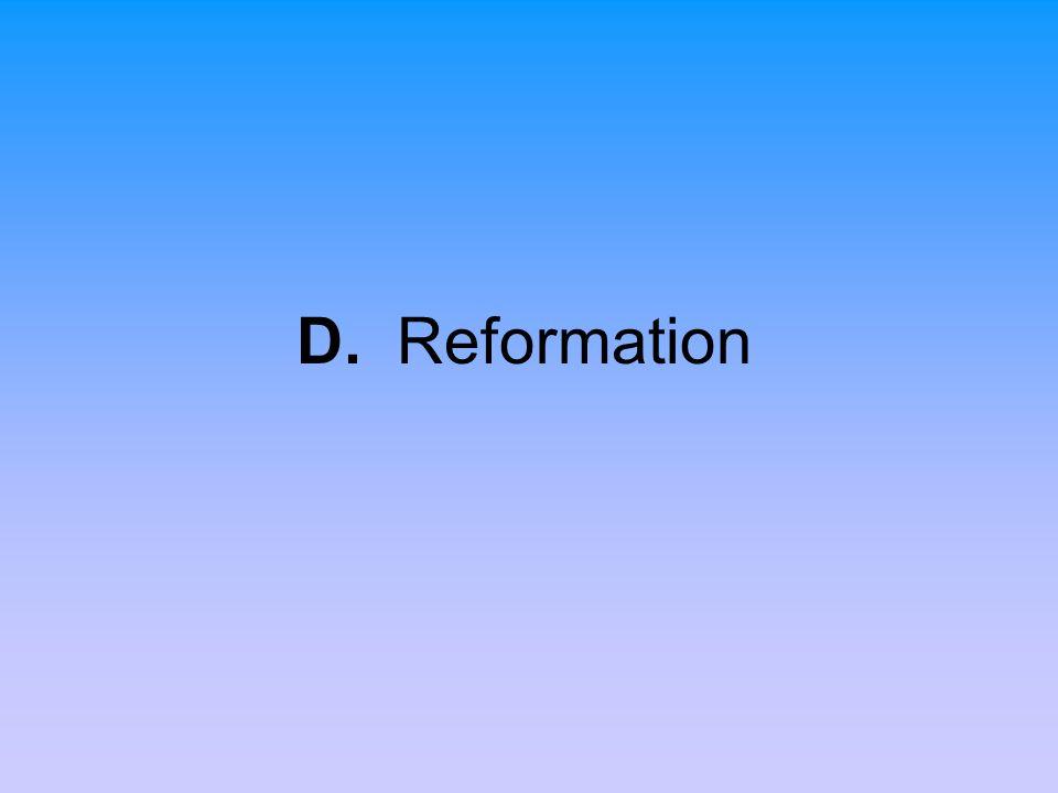 D. Reformation