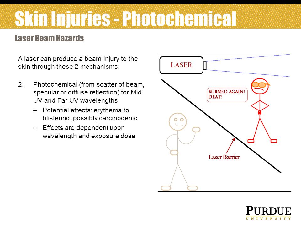 Skin Injuries - Photochemical