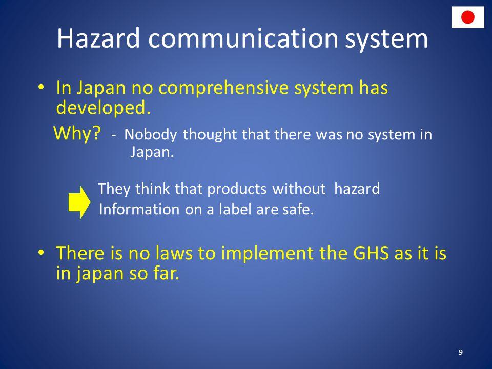 Hazard communication system