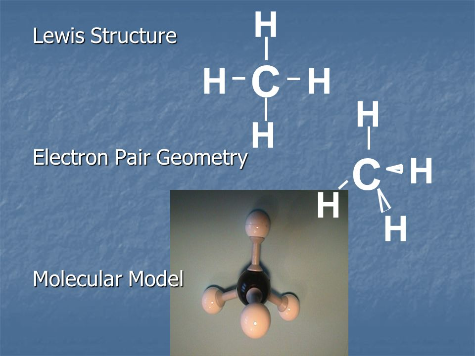 C C H H H H H H H H Lewis Structure Electron Pair Geometry