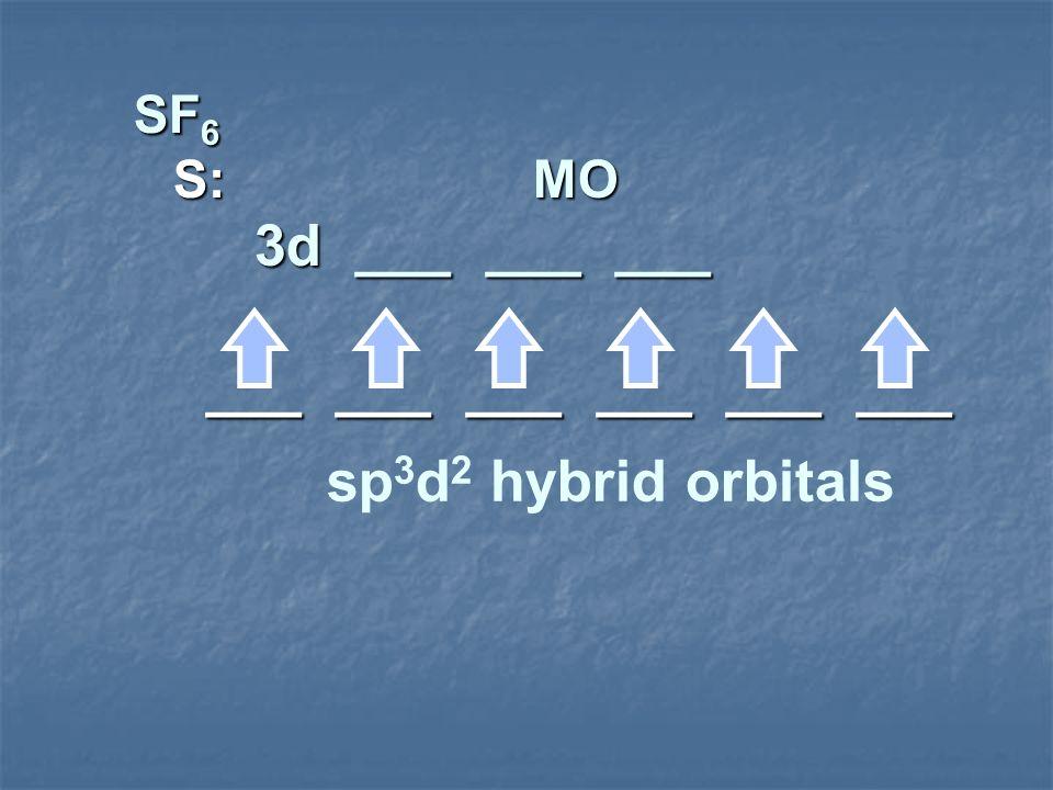 SF6 S: MO 3d ___ ___ ___ ___ ___ ___ ___ ___ ___