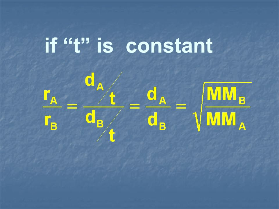 if t is constant