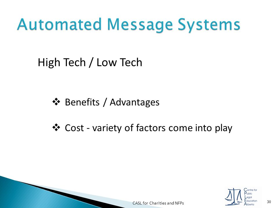 Automated Message Systems