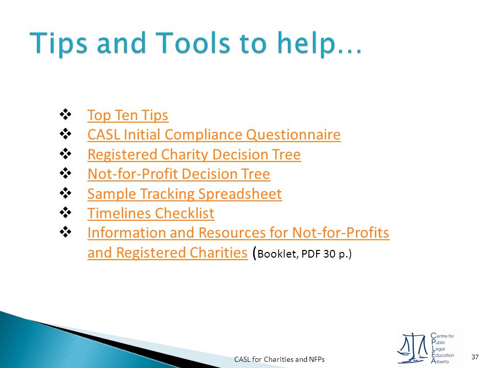 Tips and Tools to help… Top Ten Tips