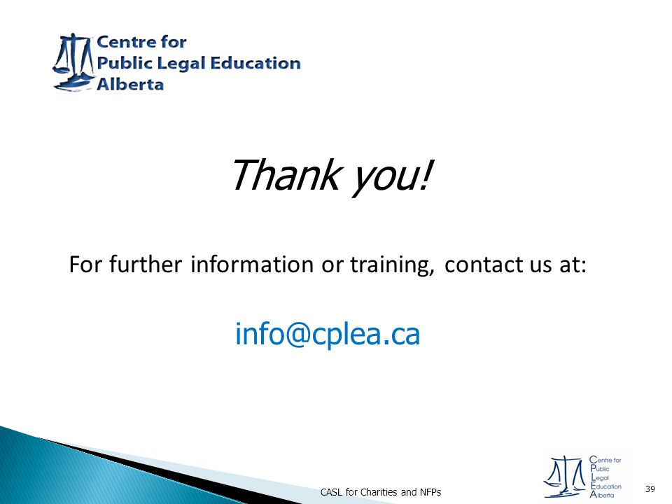 For further information or training, contact us at: