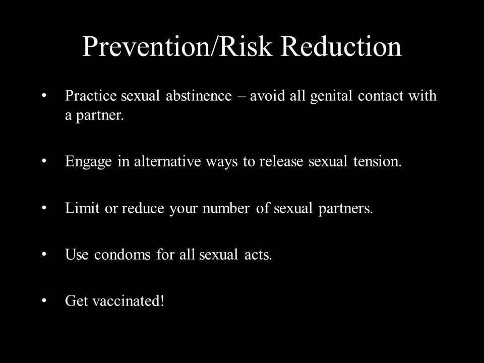 Prevention/Risk Reduction