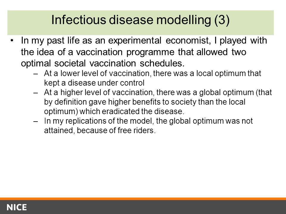 Infectious disease modelling (3)