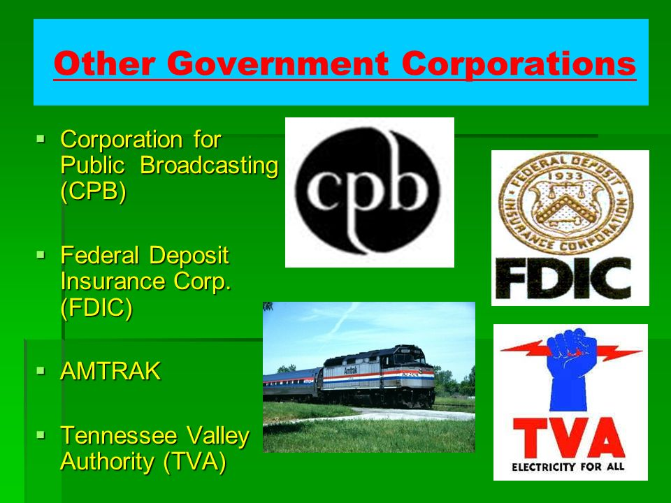 Other Government Corporations