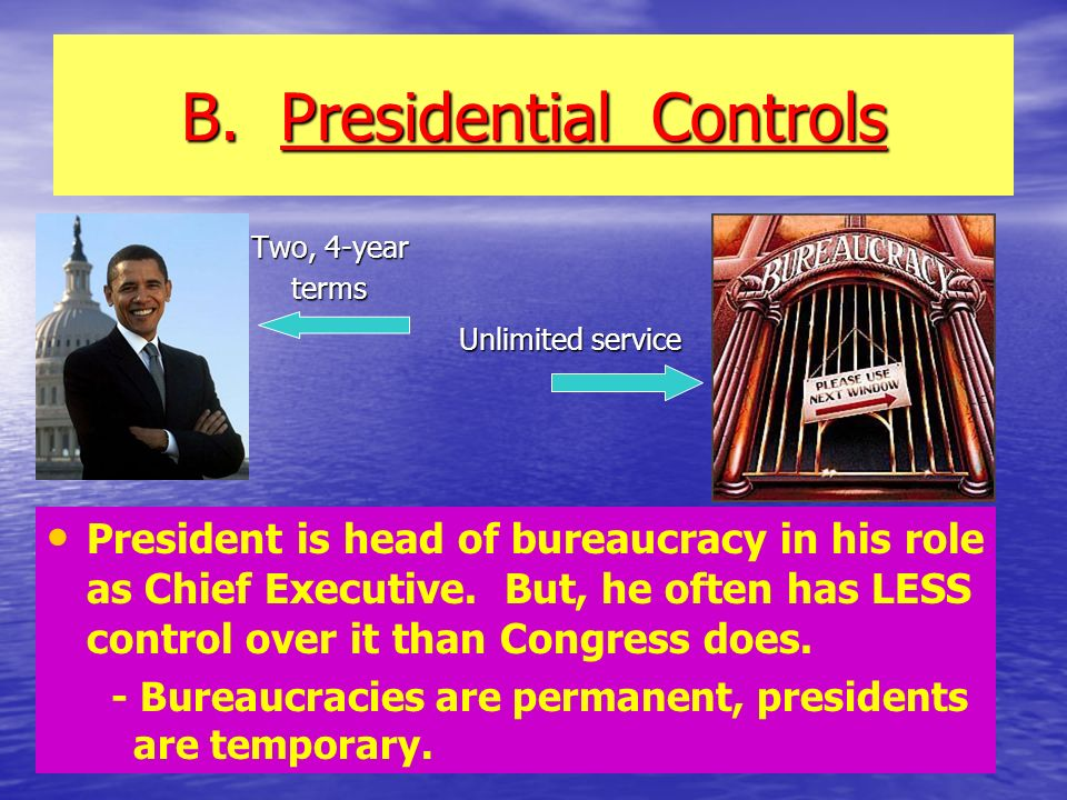 B. Presidential Controls
