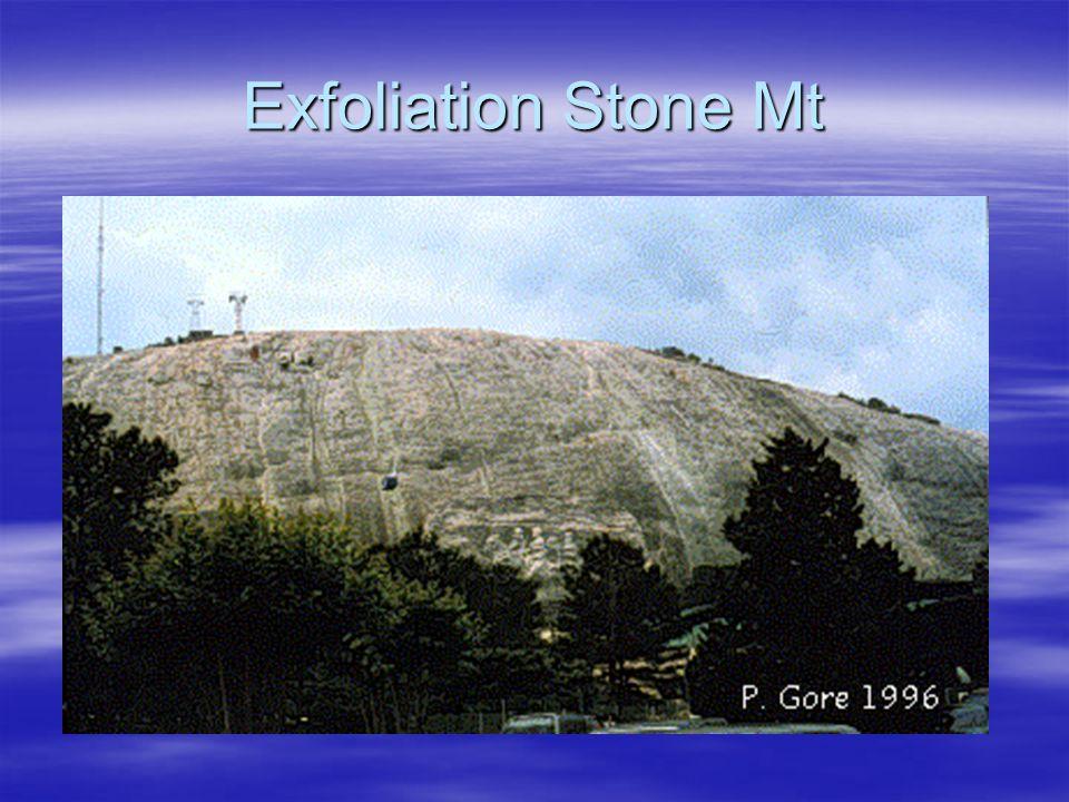 Exfoliation Stone Mt