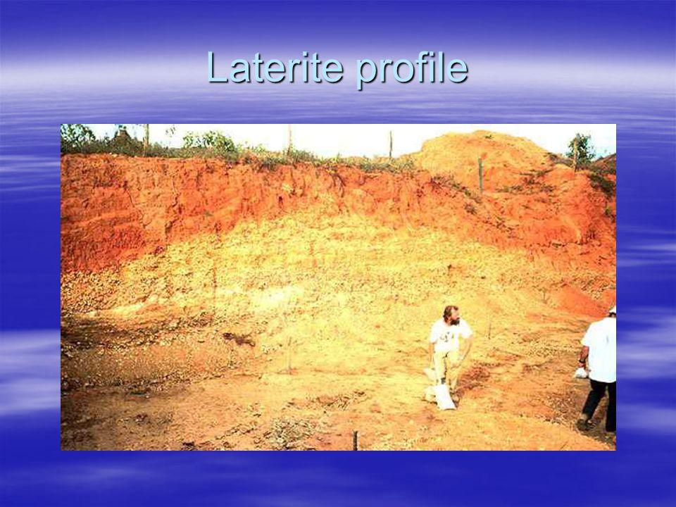 Laterite profile