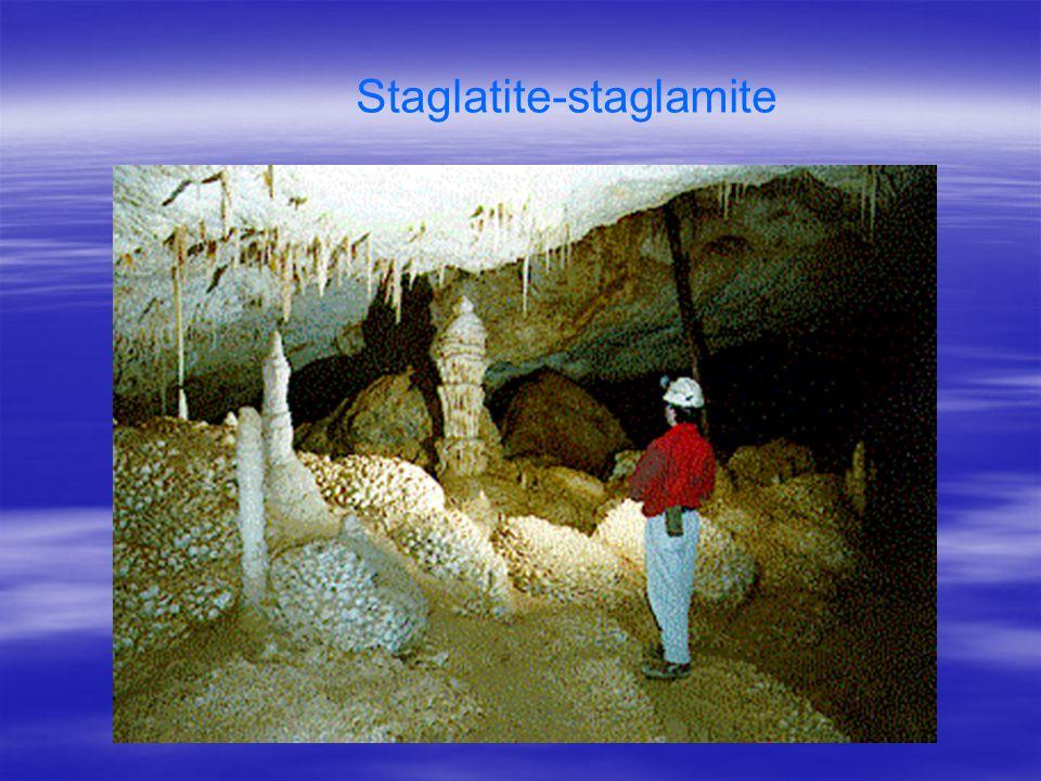 Staglatite-staglamite