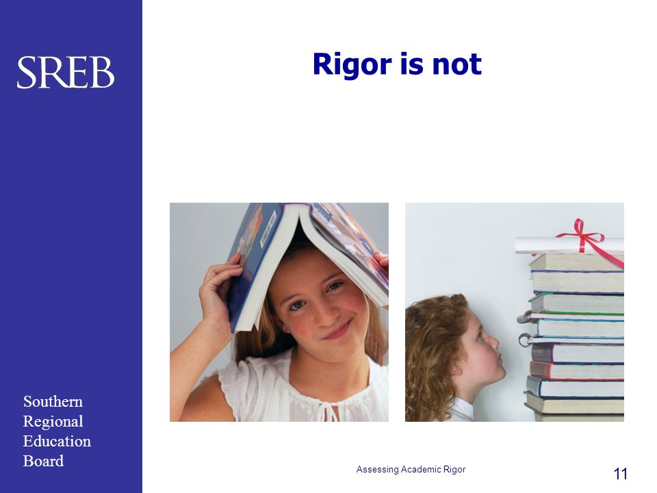 Assessing Academic Rigor