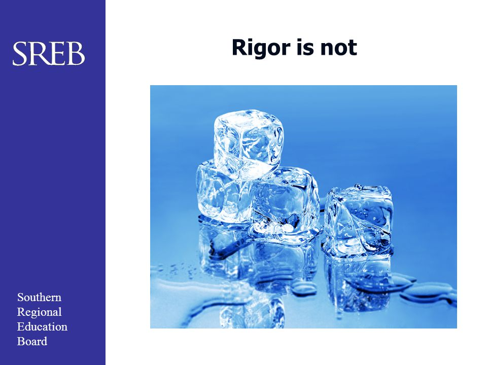 Rigor is not Cold and impersonal