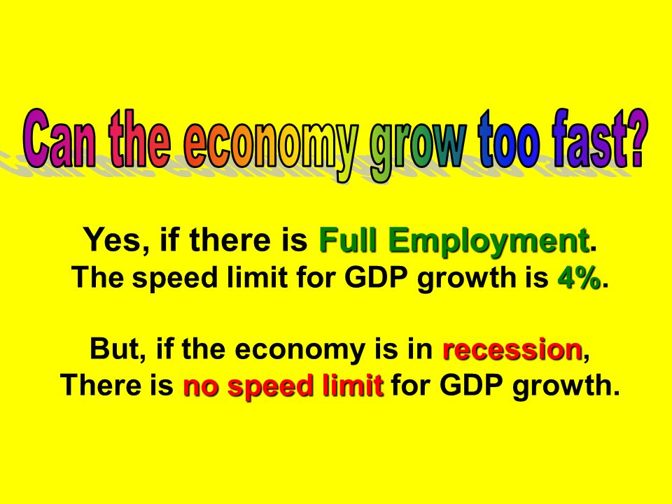 Yes, if there is Full Employment.