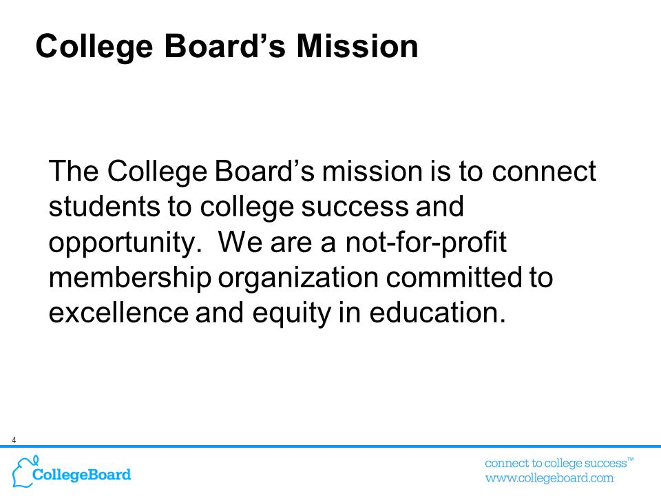College Board's Mission