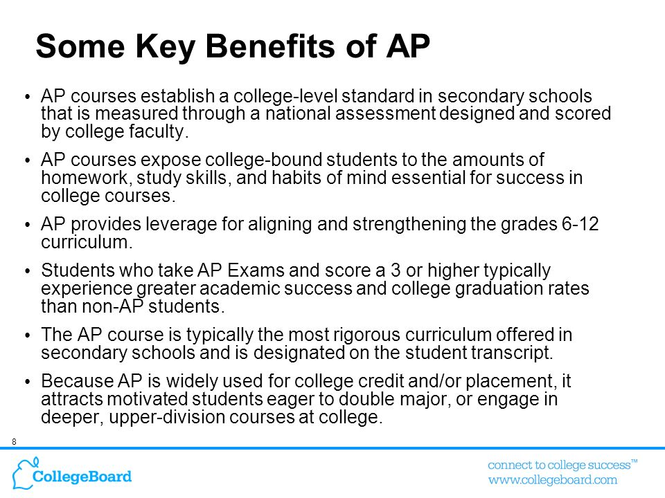 Some Key Benefits of AP