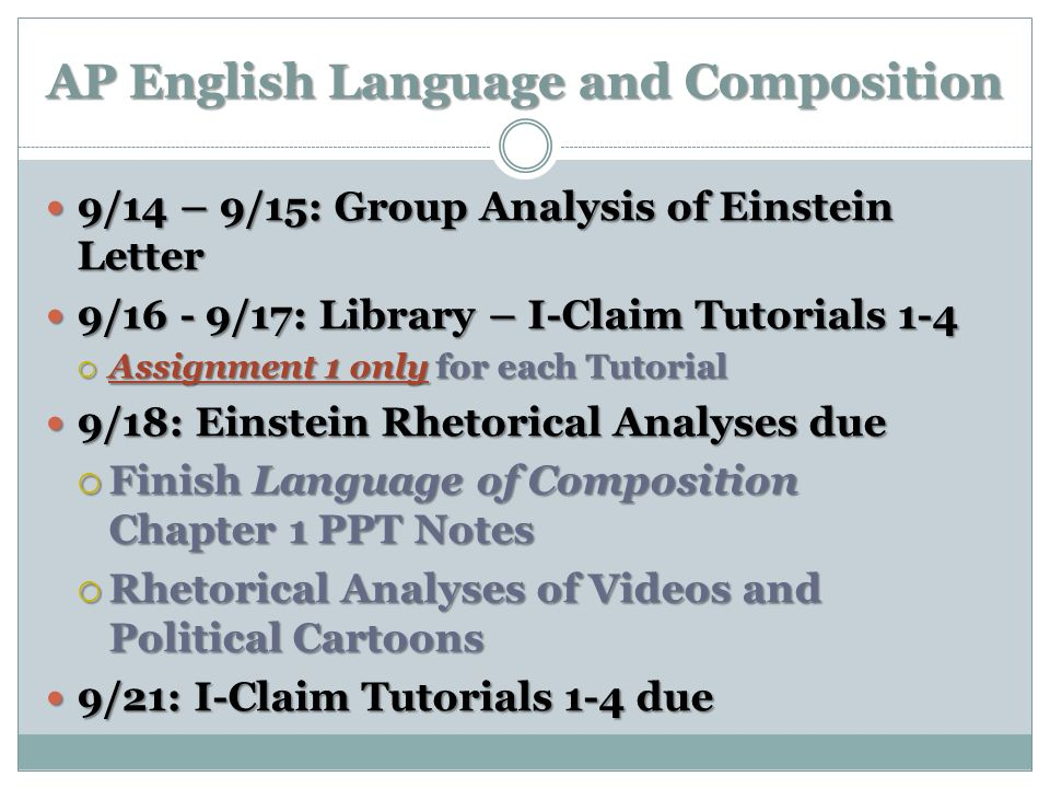 ap english language 9 essay Ap english language and composition ap english  research paper and  synthesis essay january  crucible reading schedule: act one due monday, 9/ 18.