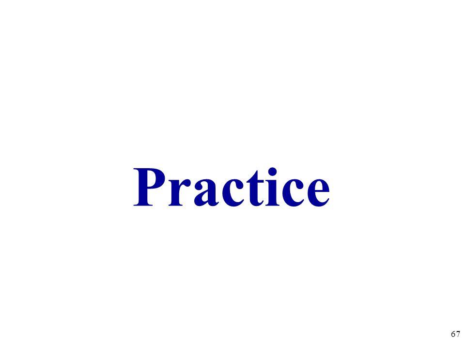 Practice 67