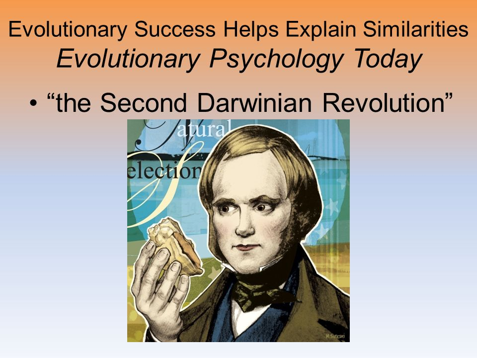 the Second Darwinian Revolution
