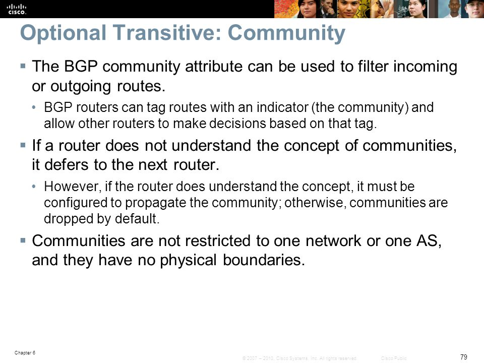 Optional Transitive: Community