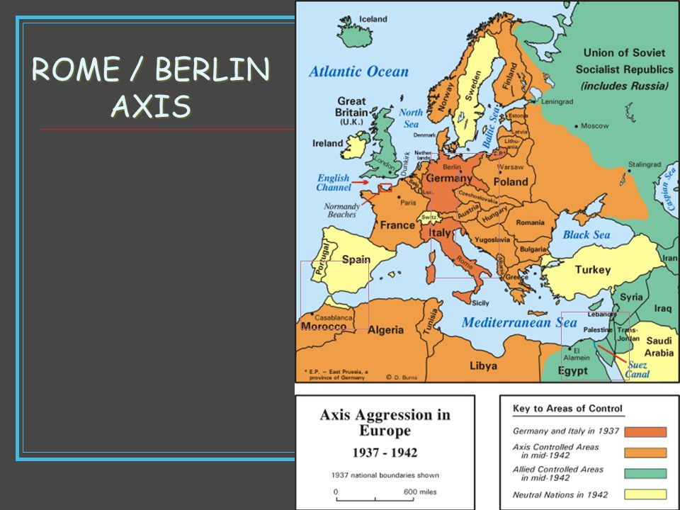ROME / BERLIN AXIS