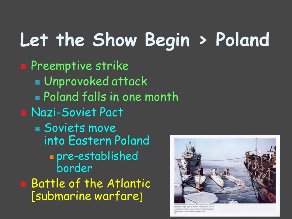 Let the Show Begin > Poland