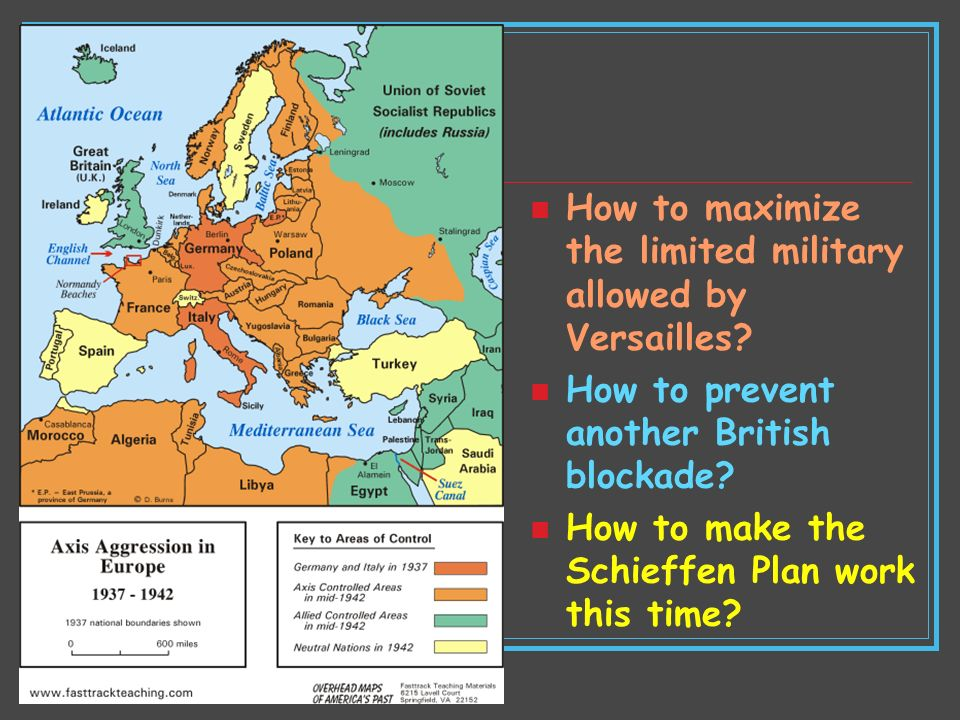 How to maximize the limited military allowed by Versailles