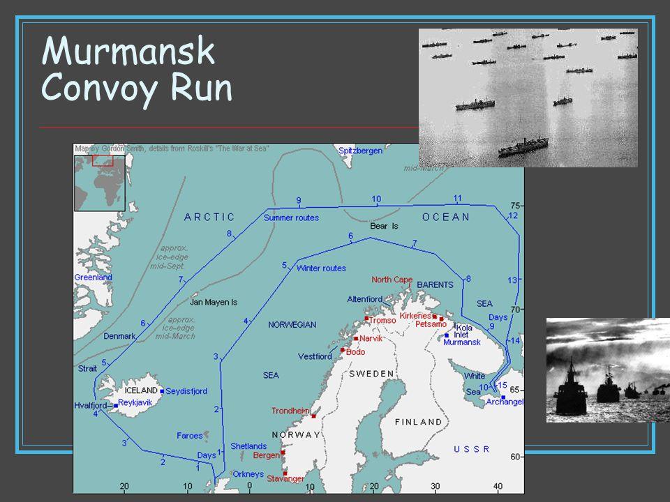 Murmansk Convoy Run