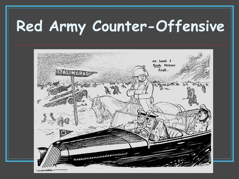 Red Army Counter-Offensive